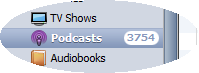 3,753 podcast episodes.. that'll keep me busy