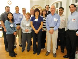 Some Boston West Toastmaster members from 28-Sept-2009 meeting