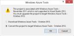 WindowAzureTools-dialog-NeedOct2012ToolsForDotNet45