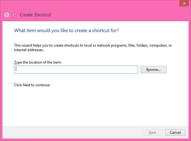 Start Windows Azure Storage Emulator from a Shortcut