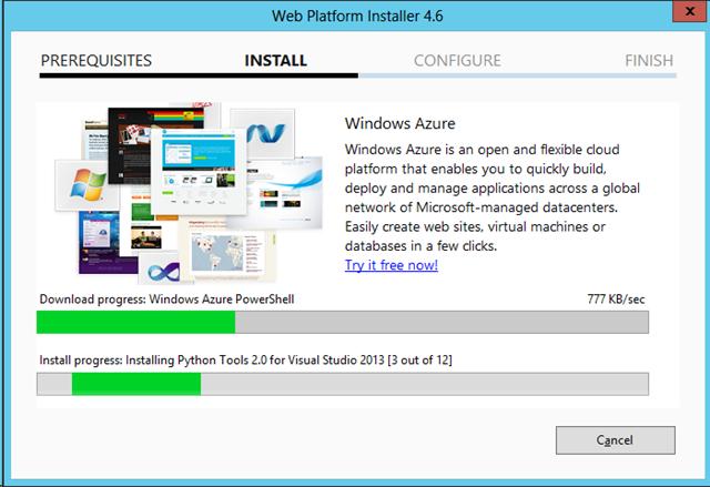 Stupid Azure Trick #3 – Create a Dev Virtual Machine in Windows