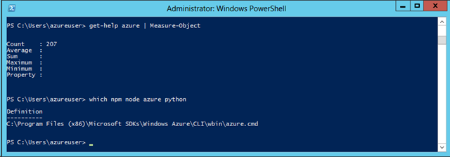 Stupid Azure Trick #3 – Create a Dev Virtual Machine in Windows